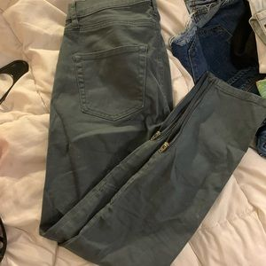 Blue-Gray Stretchy Jeans